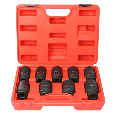 NEW Deep Impact Socket Tool Set 29-38mm 1/2