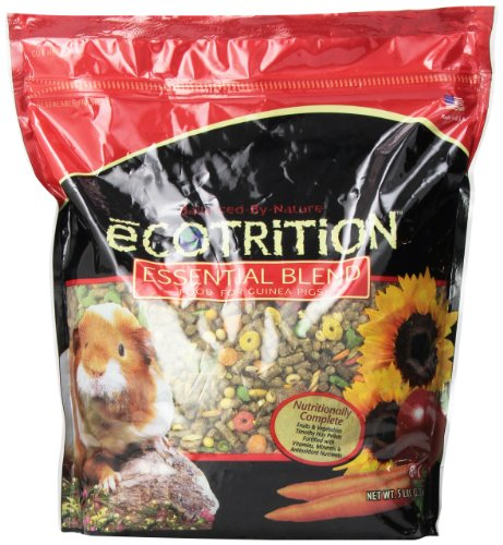 - Ecotrition Essential Blend Food For Guinea Pigs, Resealable Bag