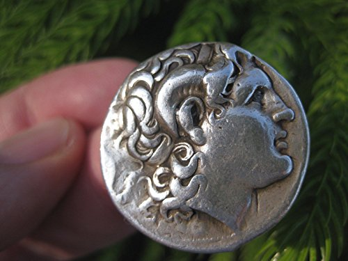 Greek silver coin Alexander the Great Tetradrachm 16.92 g, Lysimachus, 298-281BC