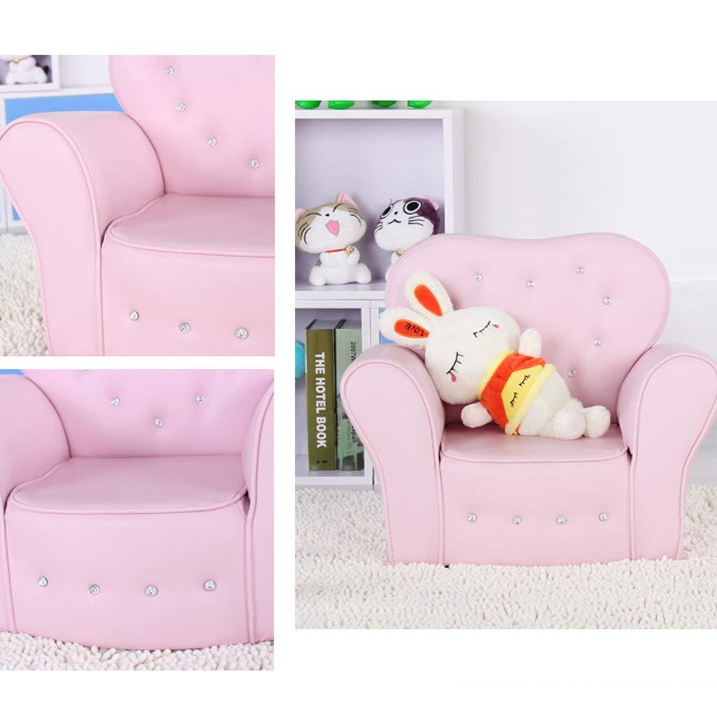 Amazon.com: YONGJUN Sofá de piel para niños, silla de bebé ...