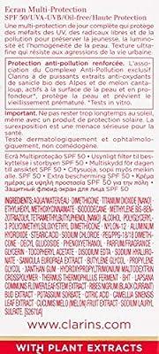 Clarins UV Plus Anti-Pollution Day Screen Multi-Protection SPF 50 Translucent, 1 oz