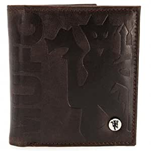 Manchester United F.C. Luxury Lined Wallet 880: Amazon.es ...