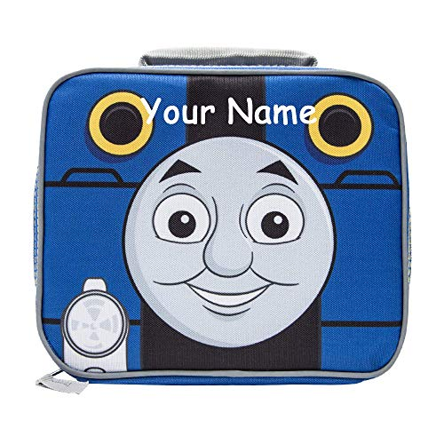 Thomas the Tank Engine Personalized Thomas and Friends Train Back to School Insulated Lunchbox Lunch Bag - Officially Licensed with Custom Name