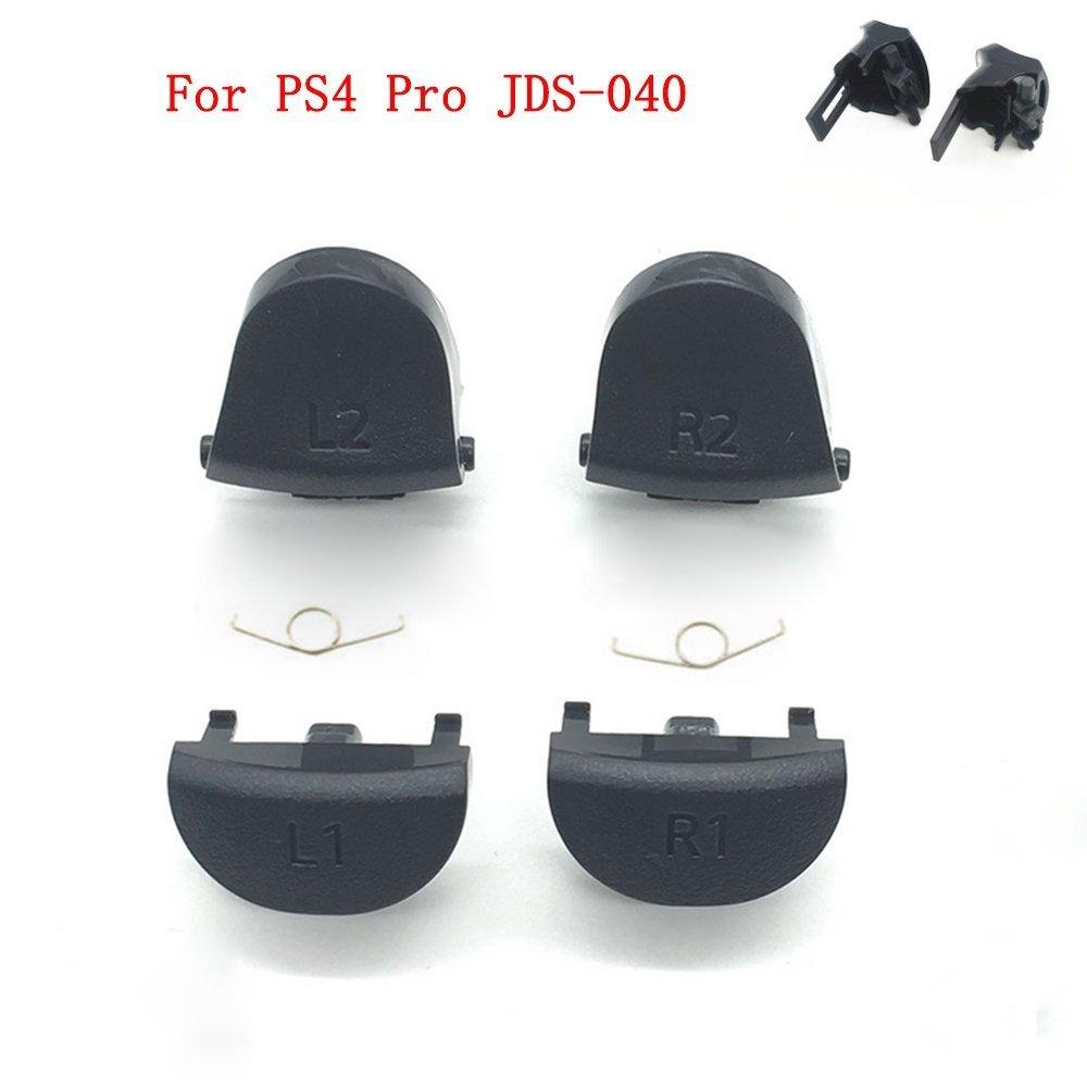 auslö seknopfes L1 R1 L2 R2 Knopf & Springs fü r Sony PS4 Pro jds-040 jdm-040 Controller repartment Perfect Part