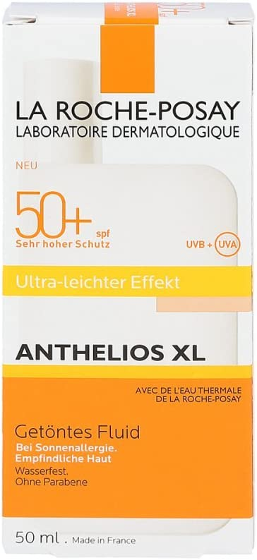 Roche Posay Anthelios Xl Fluid Colorato Lsf 50 R 50 Ml Amazon