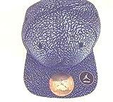 NIKE Air Jordan 1 Retro Unsupreme Elevated Elephant Print Court Cap Snapback Hat (Midnight Navy Blue) INFANT 12-24