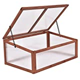 oldzon Small Greenhouse Raised Plants Flower Garden Patio Lawn With Ebook