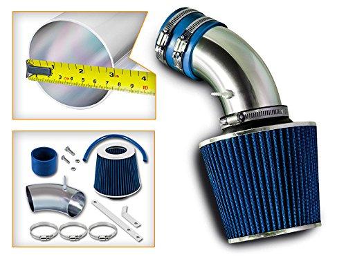 (Velocity Racing Blue Short Ram Air Intake Kit + Filter for 93-98 Volkswagen Golf GTI Jetta Cabrio 2.0L L4)