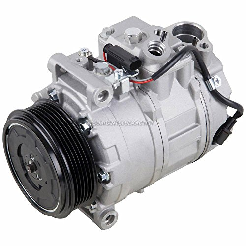 Ac Benz Mercedes Compressor (AC Compressor & A/C Clutch For Mercedes E320 S430 S500 CL55 GL450 ML350 R350 - BuyAutoParts 60-01620NA New)