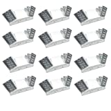 Hardwire LED Emergency Light Standard with Adjustable Heads, Backup Battery, UL Certified 12 Pack
