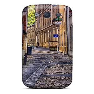 Galaxy S3 Case Cover Skin : Premium High Quality Clean City Alley Hdr Case