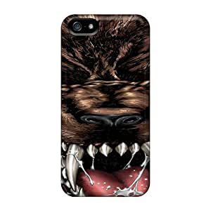 Durable Protector Case Cover With Werewolf Hot Design For Iphone 5/5s