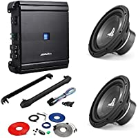 Alpine 500 Watt RMS Class D Mono Car Amplifier + JL AUDIO 10 600W 4 OHM W1 V3 CAR STEREO BASS SUB WOOFER+ AMP KIT