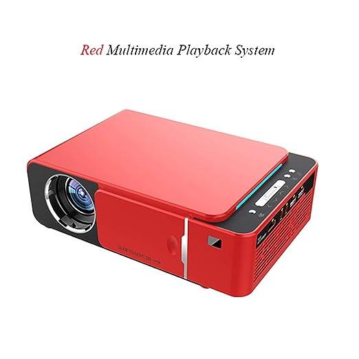 Covan_CN Proyector HD para el hogar/Mini proyector LED ...