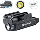 SKYBEN Olight PL-MINI Valkyrie 400 Lumens CREE XP-L HI Magnetic USB Rechargeable Weapon Light,Powered by a Built-in Lithium Polymer Battery, with Accessory (PL-MINI)