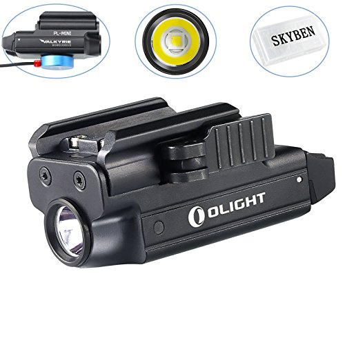 SKYBEN Olight PL-Mini Valkyrie 400 Lumens CREE XP-L HI Magnetic USB Rechargeable Weapon Light