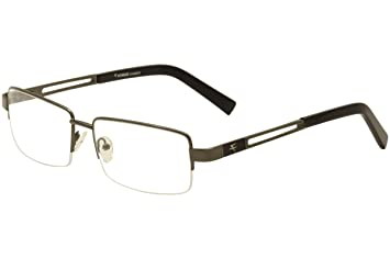 4b3bae7c61 Image Unavailable. Image not available for. Color  Fatheadz Men s Flight  FH00187 FH 00187 Gunmetal Black Optical Frame 61mm