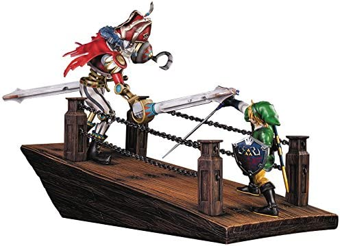 Figurine Zelda Skyward Sword Link Vs Scervo Diorama Amazon Fr Jeux Video
