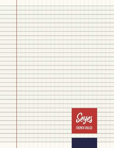 Seyes French Ruled Notebook - Journal - 8.5