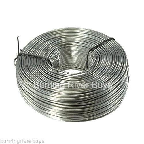 3.5 lb. Coil 18-Gauge 304 Stainless Steel Tie Wire Coil 542' feet by BRB Products (Image #1)