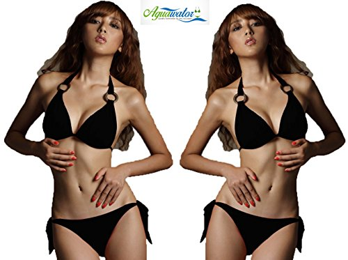 Aguawator Beachwear, Swimwear Bikini Set - Womens Push Up Bikini Swimsuit Set