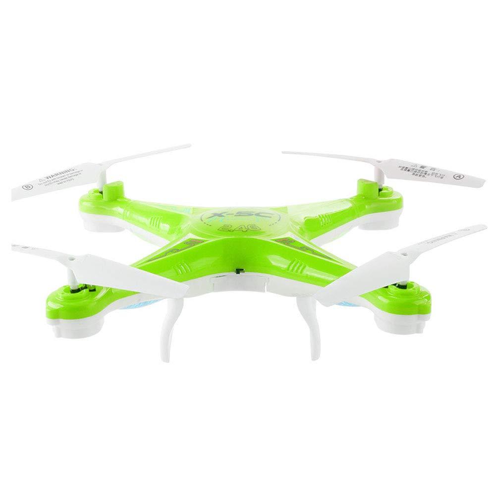 Aland-Aerial Wide Angle Quadcopter Remote Control Mini Camera Aircraft Children Toy - Green