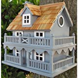 Novelty Cottage Blue Birdhouse from Buttercup Farm