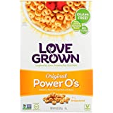 Love Grown Cereal Power O's Original 8 Ounce (Pack of 6)