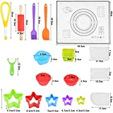 WOWOSS Kids Cooking and Baking Set 33 Pcs Kitchen