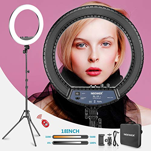 Neewer RL-18II Bi-color 18-inch LED Ring Light