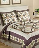 Day By Day Twin Quilt Mini Set Meditation Garden Multi Colored