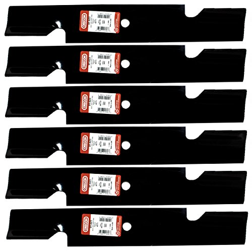 Replaces John Deere 6 pack Oregon High Lift Blades 91-623 for Wright 52