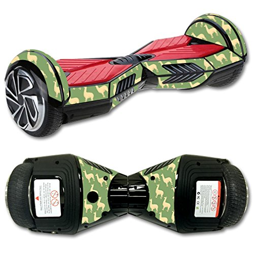 MightySkins Skin Compatible with Self Balancing Mini Scooter Hover Board - Llama | Protective, Durable, and Unique Vinyl Decal wrap Cover | Easy to Apply, Remove, and Change Styles | Made in The USA