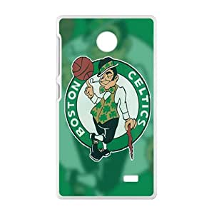 Boston Celtics NBA White Phone Case for Nokia Lumia X Case