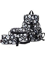 Epokris Girls School Laptop Backpack + Shoulder Bag + Pencil Case 3Pcs Set Tote 265