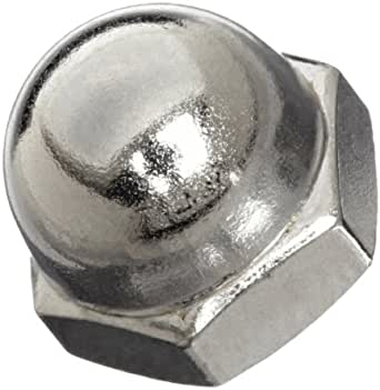 Pack of 10 M10-1.5 Threads 18-8 Stainless Steel Acorn Nut Meets DIN 1587 Right Hand Threads
