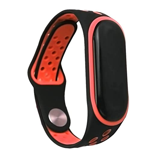 Amazon.com: Fullfun Double Color Mi Band 3 Accessories Miband 3 ...