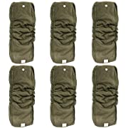 Happy Endings Stay-Dry Snap-in Gusseted 5 Layer Charcoal Bamboo Insert(s) for AI2s and Diaper Covers (6 Pack)