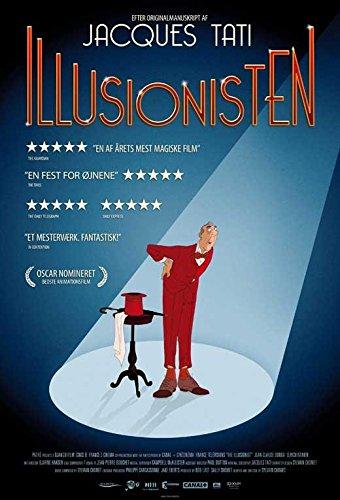 The Illusionist Flier Movie German B 27 x 40 Inches - 69cm x 102cm Jean-Claude Donda Eilidh Rankin Duncan MacNeil Raymond Mearns James T. Muir