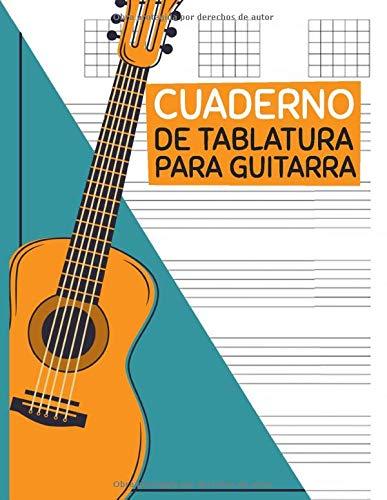 CUADERNO DE TABLATURA PARA GUITARRA.: Guitarra Seis Cuerdas ...