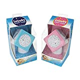 Portable Baby Soother, Night Light, and Star Projector in One - Lullaby Light Cube - w Touch Sensors - (Pink)