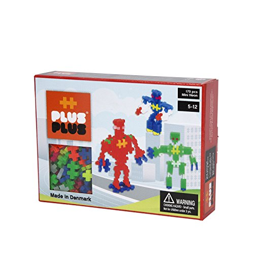 Plus Pieces (Plus-Plus Robots Building Set (170 Piece))