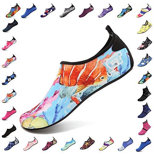 Shoes Men Shoes Slip Sneaker Anti Beach and Kids Water Exercise CIOR Swim 03 Skin Surf Barefoot Flower Pool for Women v81dqxwxX