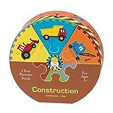 Mudpuppy Construction Deluxe Puzzle Wheel