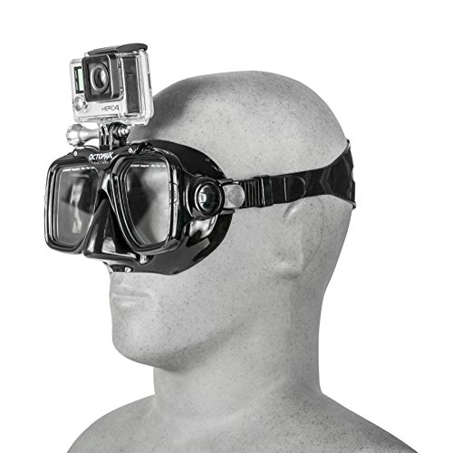 GoPro Hero5 and Session Dive Mask for Scuba Diving and Snorkeling