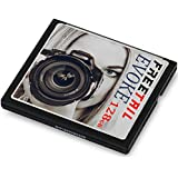 FreeTail EVOKE 128GB 800x CompactFlash Card – (Up to 160MB/s Read, Up to 85 MB/s Write) - VPG-20 UDMA 7 CF Card – FTCF128A08 – Ideal for Professional Photographers & DSLRs