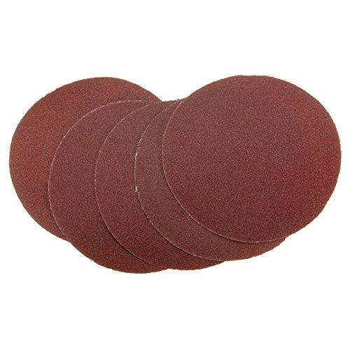 150 Mm Disc - BephaMart 5pcs 80 Grit Sandpaper Peel & Stick Sanding Disc Sand Sheet 150mm Shipped and Sold by BephaMart