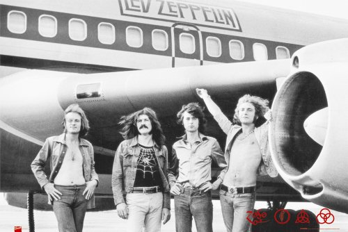 Led Zeppelin Poster Print, Collections Print, Print
