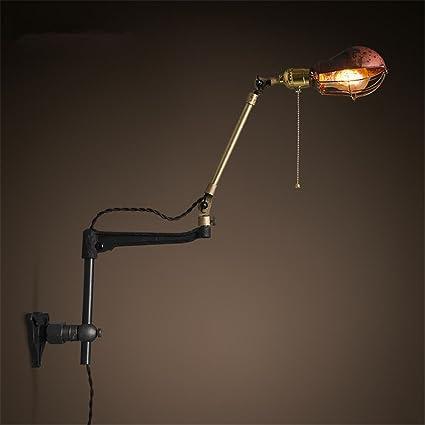 Apliques de Pared Vintage Industrial luces pared lmpara pared
