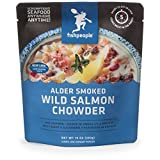 Fishpeople Alder Smoked Wild Salmon Chowder, 10 Ounce by Fishpeople
